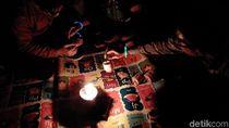 Anak Muda Yogya Isi Earth Hour dengan Mural sampai Main Gangsing