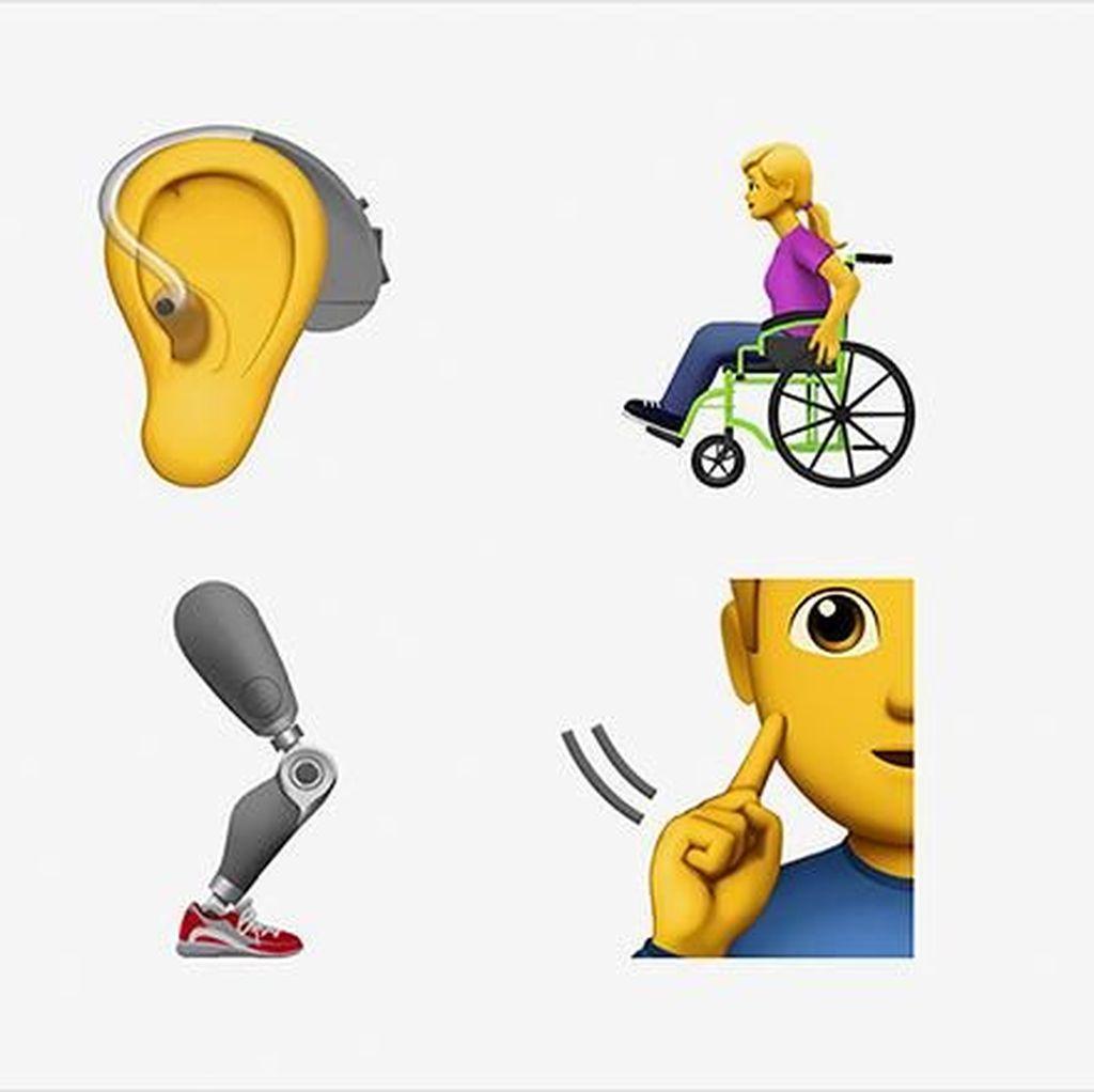 Apple Ajukan Emoji untuk Penyandang Disabilitas