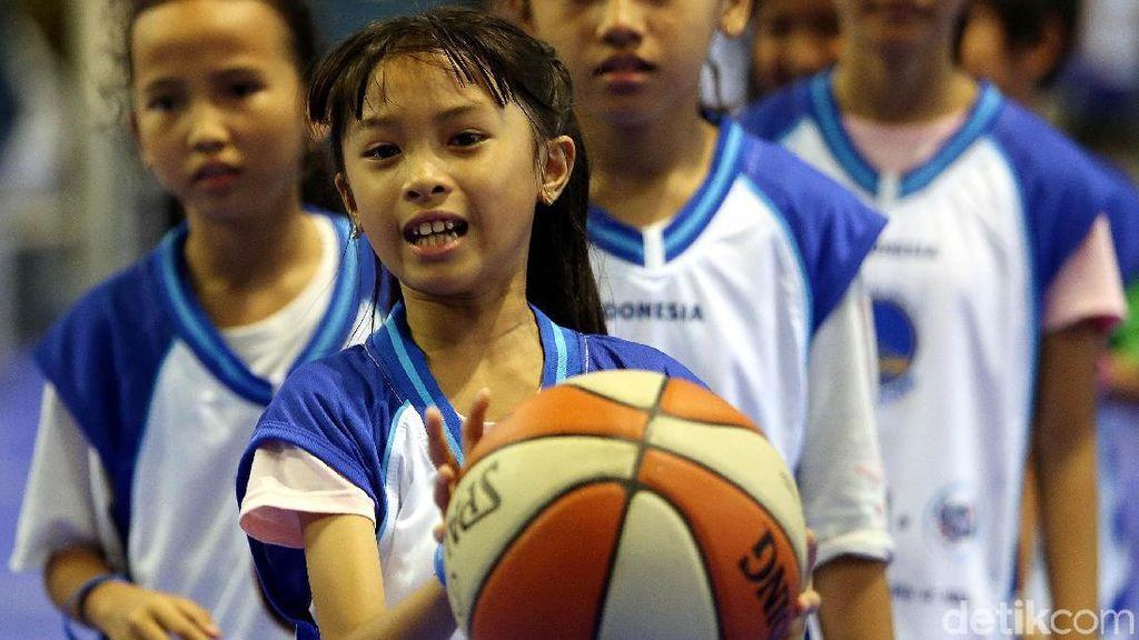 Ribuan Anak Ikuti Progam Jr NBA Indonesia