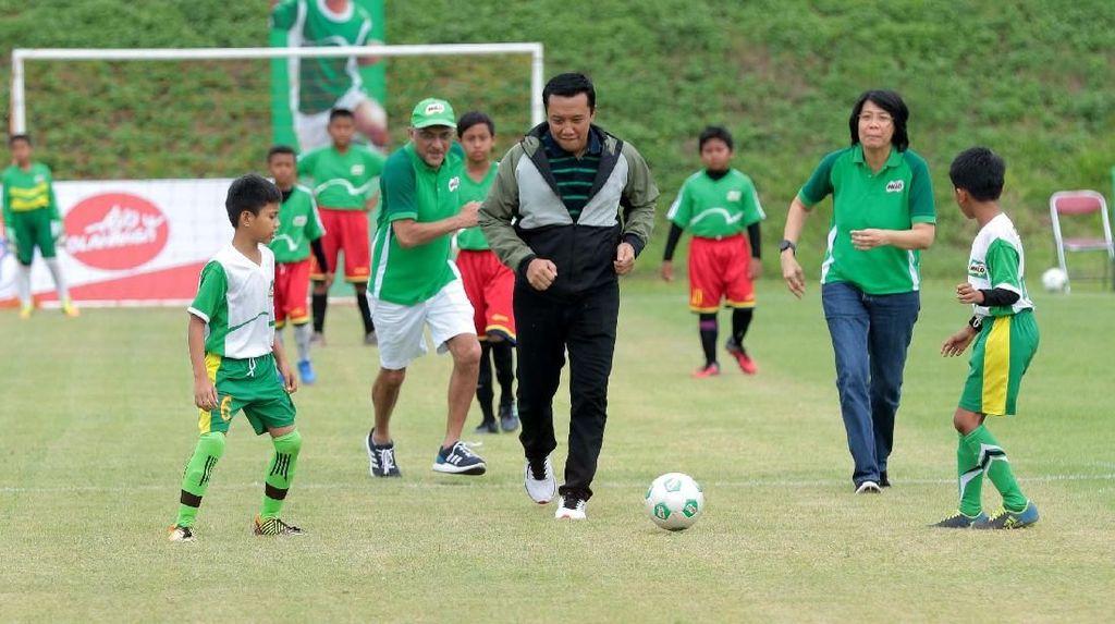 Menpora Buka MILO Football Championship