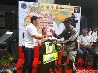 Tunggangi Sepeda Motor, Pria Ini Siap Berpetualang Jakarta-London