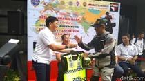 Pria Indonesia Ini Segera Bermotor Sendirian dari Jakarta-London