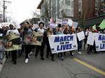 Massa Demo di AS Tolak Kekerasan dengan Senjata Api