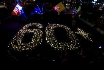 Foto: Gelap Gulita di Berbagai Negara Saat Earth Hour