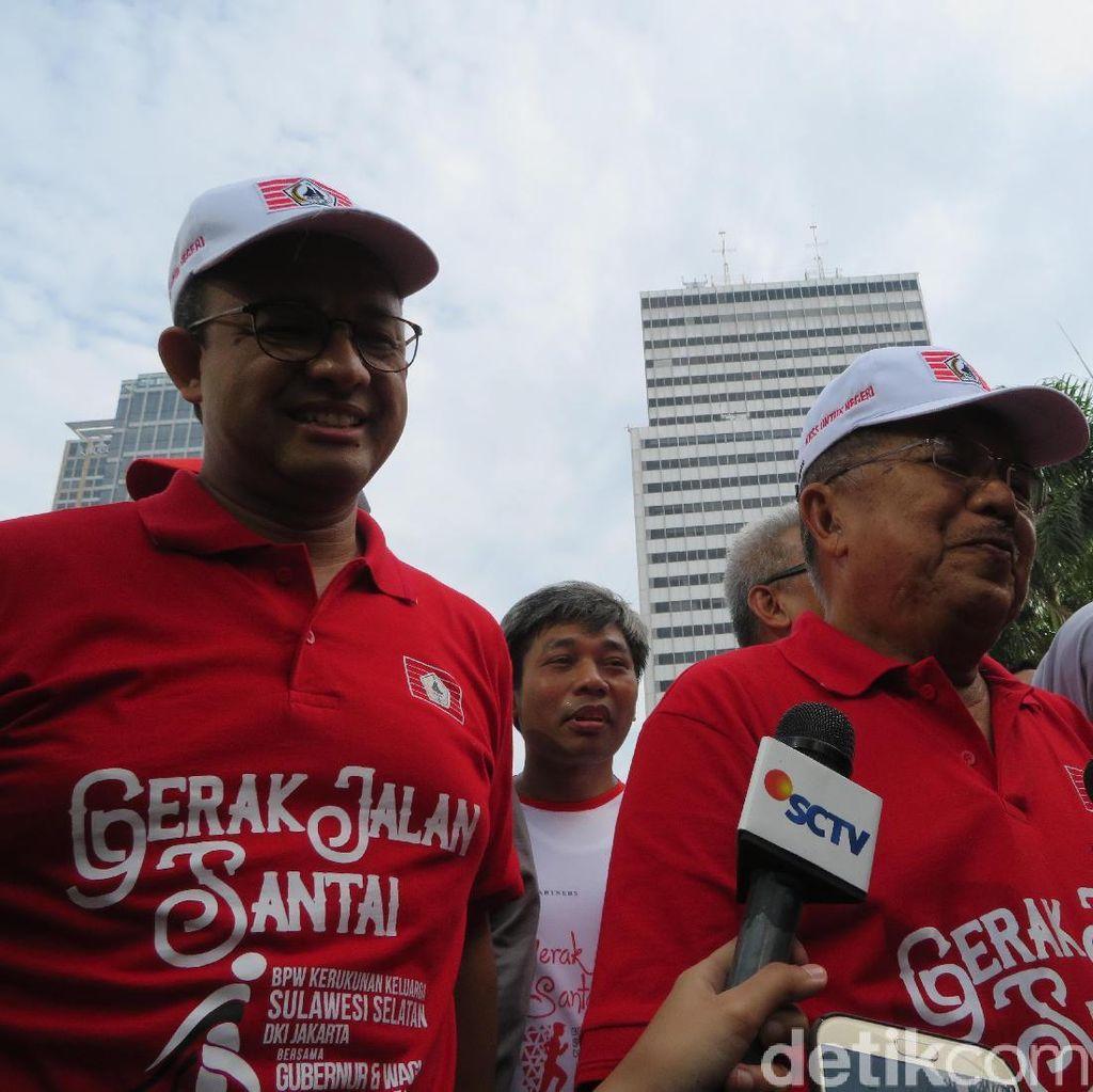 JK Soal Anies Jadi Cawapres: Sekarang Konsentrasi Gubernur Dulu