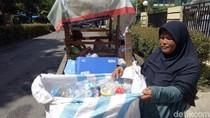 Tolak Jadi Pengemis, Ibu di Makassar Ajak 2 Balitanya Memulung
