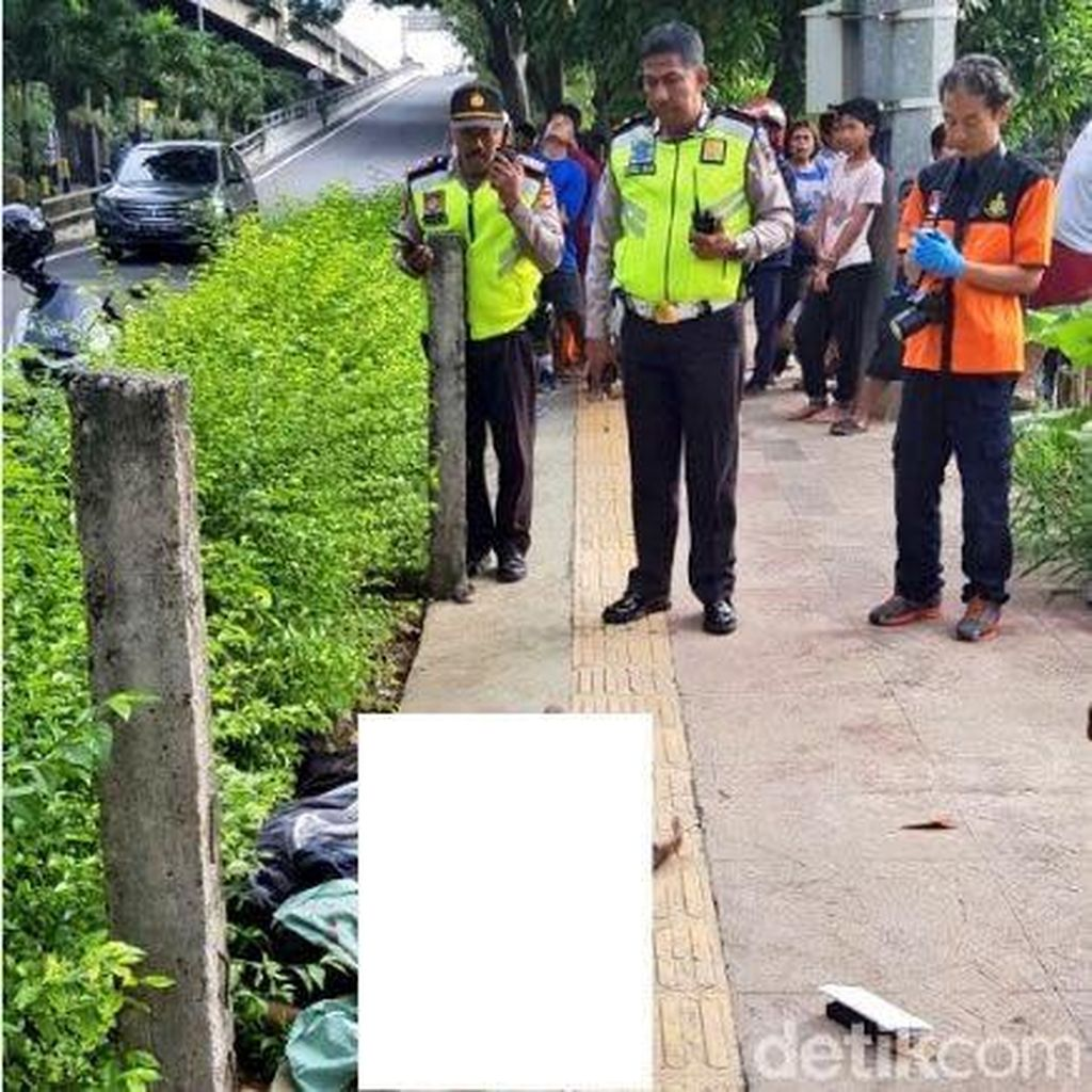 Mayat Ditemukan di Exit Tol Cempaka Putih, Diduga Dibunuh