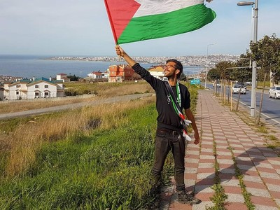 Foto: Tahapan Perjalanan Aksi Menuju Palestina