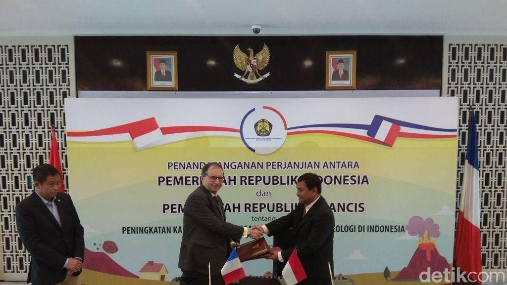 RI-Prancis Kerja Sama Pantau Gunung Berapi di Maluku