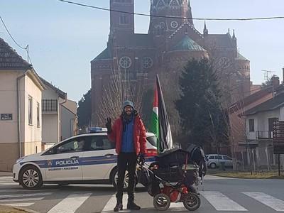 Uang 1.200 Euro Jadi Modal Aksi Benjamin Walk to Palestine