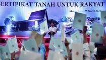 Jokowi: Pembagian Sertifikat Tanah Bukan Pengibulan!