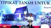 Besok ke Sukabumi, Jokowi akan Bagik   an Ribuan Sertifikat Tanah