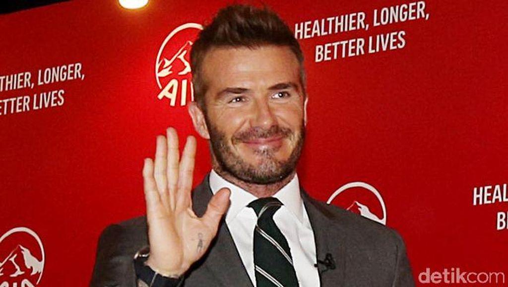 Boleh Dicontoh, Begini Cara David Beckham Tularkan Hidup Sehat di Keluarga