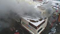 Korban Tewas Kebakaran Mal Rusia 37 Orang, Belasan Masih Hilang