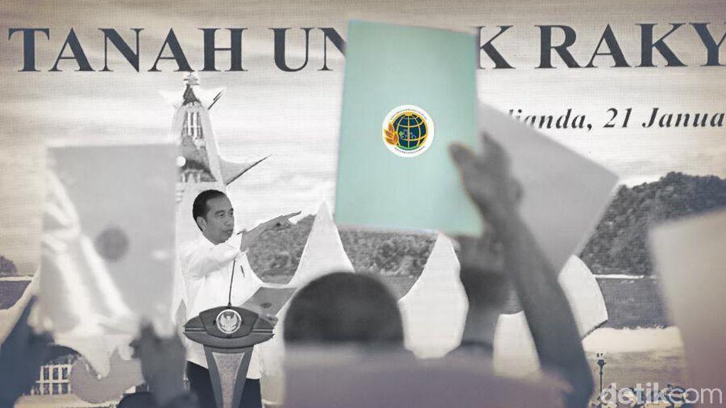 Ingin Penguasaan Lahan Lebih Merata, Apa Tujuan Jokowi?