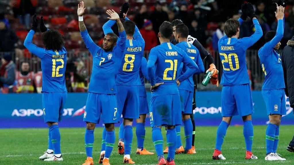 Brasil Layak Jadi Favorit Juara