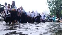 Hujan 2 Jam, Jalan Danau Sunter Utara Terendam
