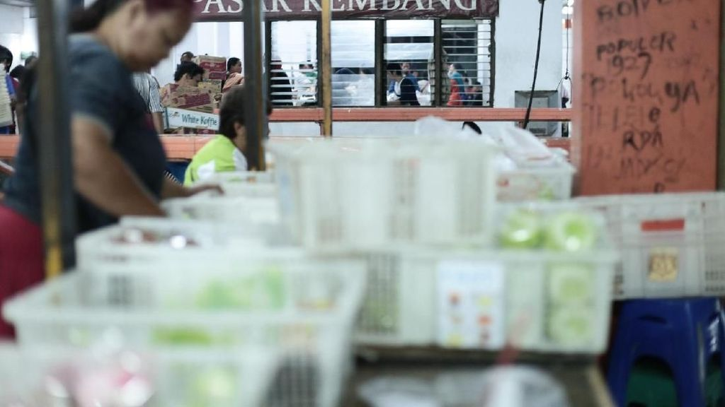 Jadi Pusat Grosir Kue, Omzet Pasar Kembang Capai Miliaran