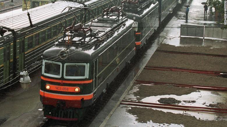 Image result for Kim Jong-un kereta api