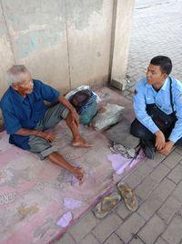Veteran yang Telantar di Kolong Tol Jakarta Ngaku Berumur 101 Tahun
