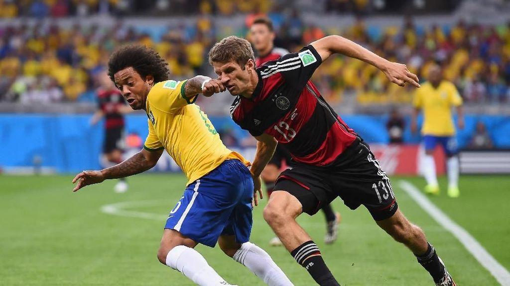 Hadapi Brasil, Jerman Dibayangi Rekor Buruk di Berlin