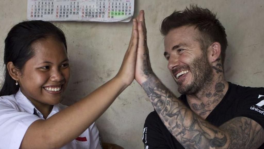 Hari Ini Beckham Kunjungi Semarang