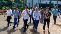 Sandiaga Hadiri Rapat Pengendalian Pangan di Kementan
