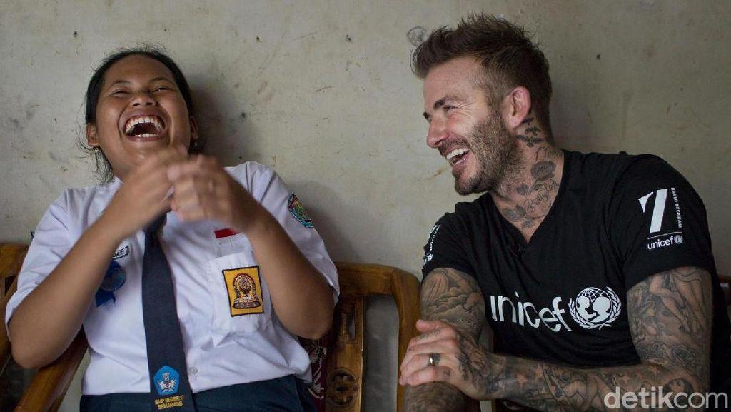 Keseruan Siswi SMP Semarang Bajak Instagram David Beckham