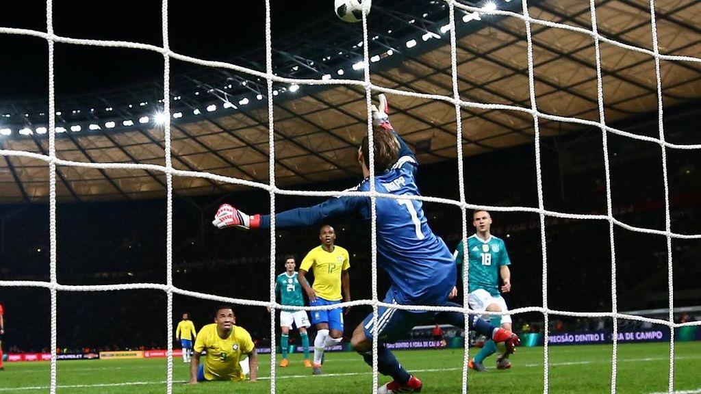 Gol Jesus yang Patahkan Rekor Tak Terkalahkan Jerman