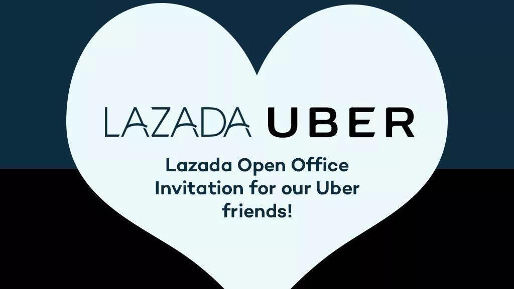 Dibeli Grab, Karyawan Uber Dirayu Lazada