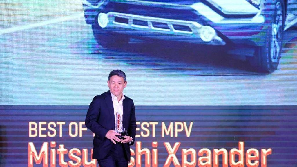 Mitsubishi Xpander Sabet Penghargaan Car of The Year 2018