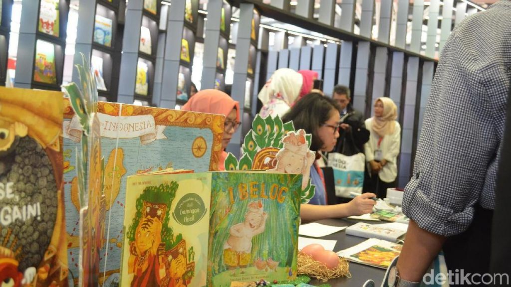 Berburu Komik hingga Novel Islam di Islamic Book Fair 2018