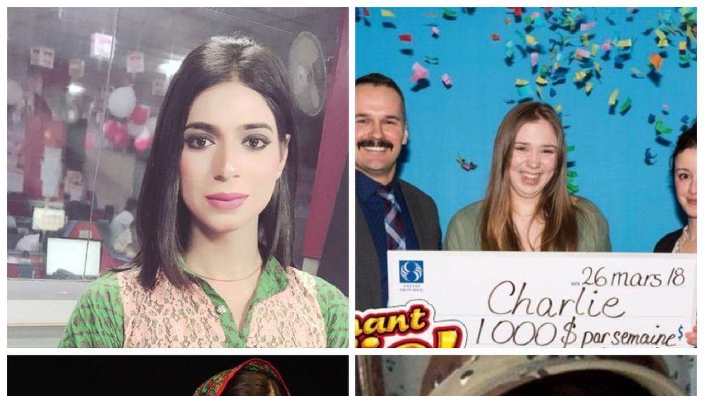 Riuh Dunia dalam Gambar: Malala Mudik, ABG Menang Lotre