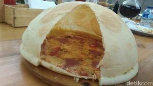 Begini Sensasi Menikmati Pizza Volcano Berlava yang Gurih Enak