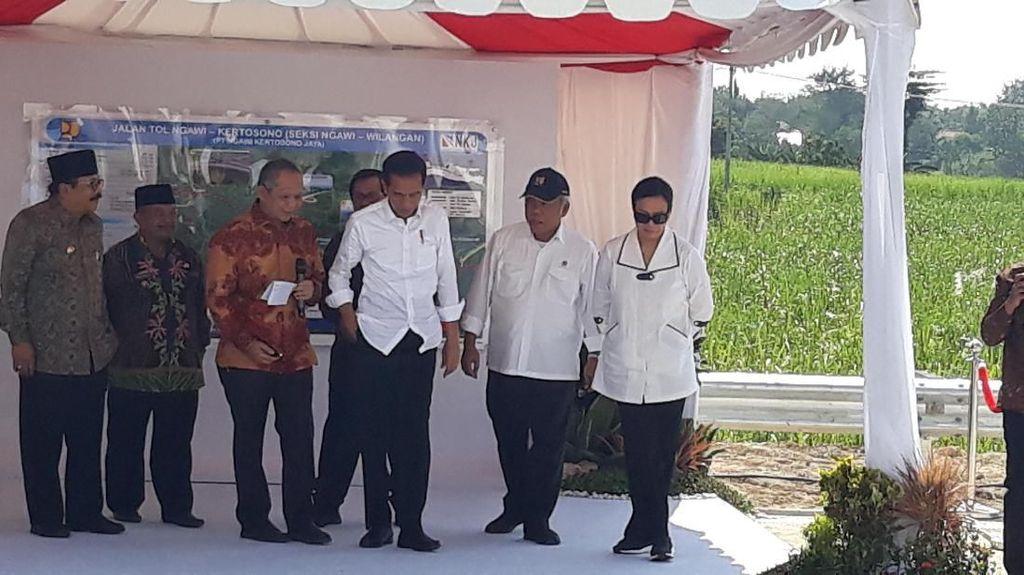 Panjang Tol yang Dibuka Jokowi Kini Sudah 398 Km