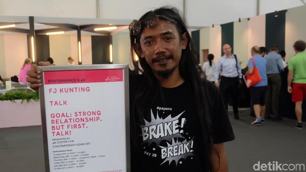 Posisi <i>Performance Artist</i> Indonesia di Mata Art Fair Internasional