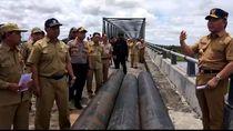 Gubernur Kalteng Dorong Penyelesaian Jembatan Antarprovinsi