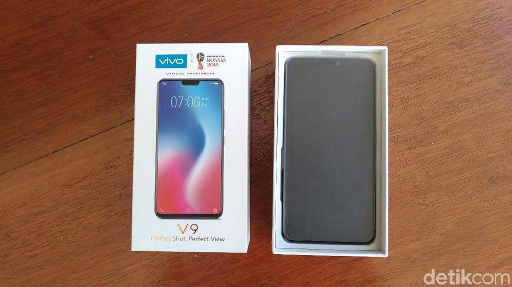 Menjajal Vivo V9, Android Bertampang iPhone X