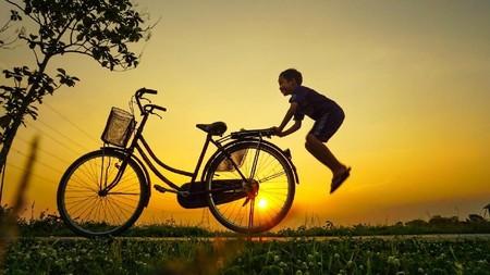 Tunggu aku sepeda!!