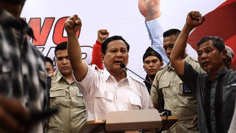 Prabowo Sampaikan Keputusan Nyapres ke Kader Gerindra Malam Ini
