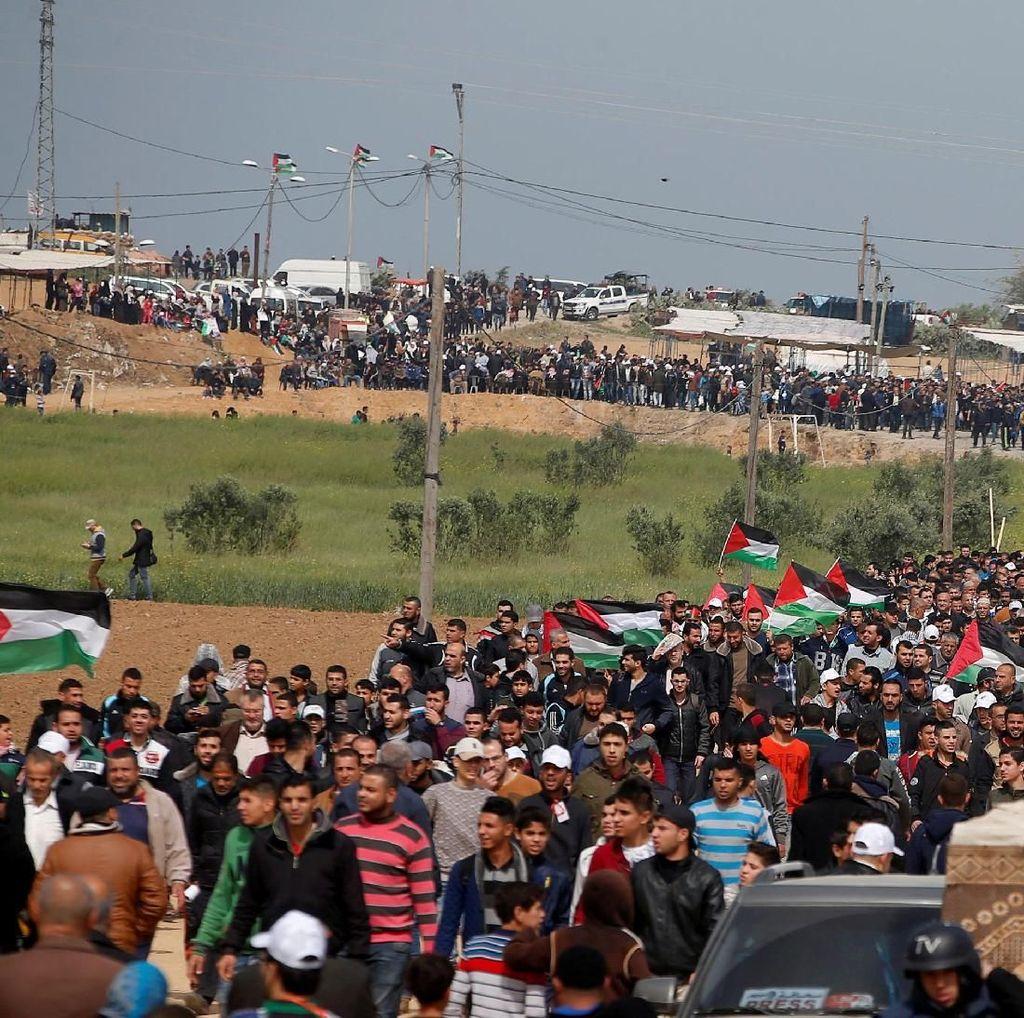 Ditembak Israel Saat Demo di Gaza, Jurnalis Palestina Meninggal