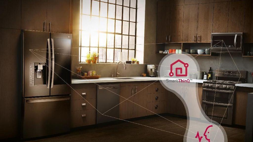 Google Assistant dan Amazon Alexa Jadi ART Rumah Pintar LG