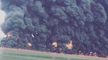 Kebakaran di Perairan Balikpapan Diduga dari Bahan Bakar Kapal