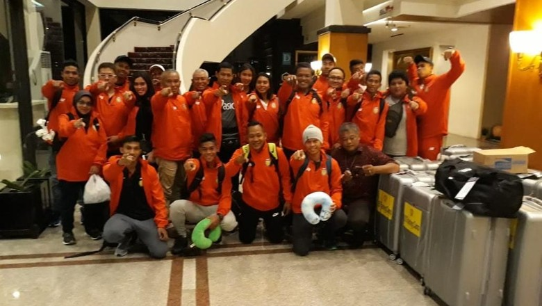 Tim Atletik Indonesia Bertolak ke AS