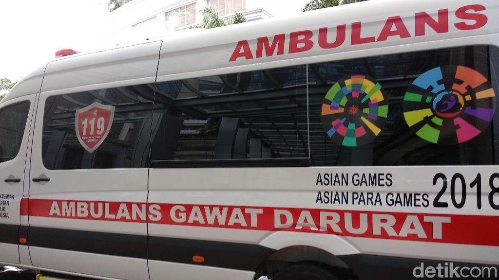 Dukung Atlet Asian Games 2018, Menkes Siapkan 25 Ambulans VVIP