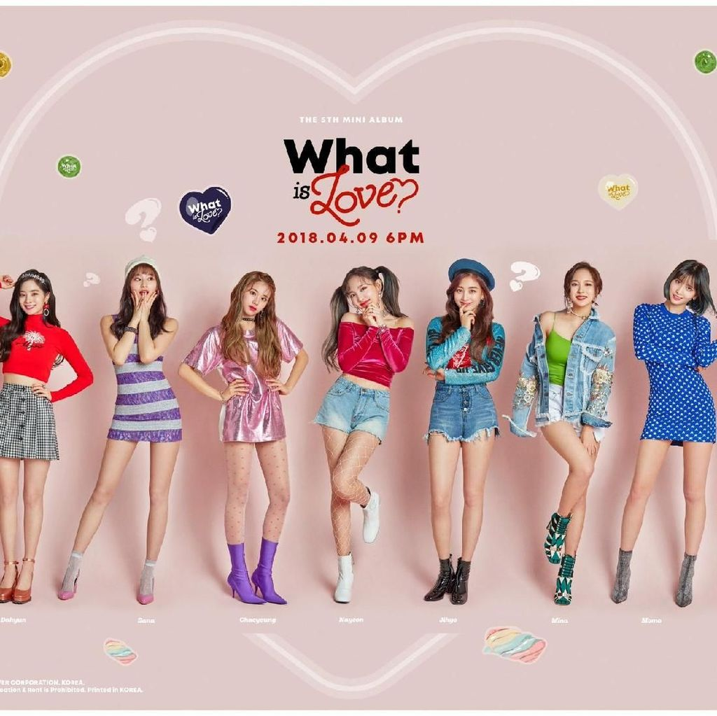 Comeback dengan What Is Love?, TWICE Sapu Bersih Chart Realtime