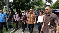 Di Petilasan Majapahit, SBY Makan Bersama Warga dan Kader PD