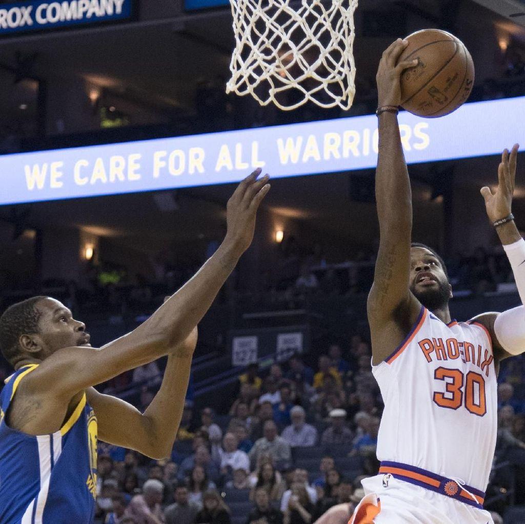 Double-Double Durant Bantu Warriors Kalahkan Suns