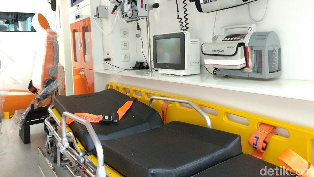 Wow! Ambulans Super VVIP Ini Standby untuk Asian Games 2018