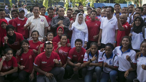 Menko PMK Temui Atlet Tiga Cabor di Yogyakarta